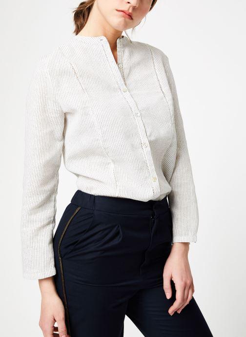 Vêtements Garance BAPTISTE Blanc vue détail/paire
