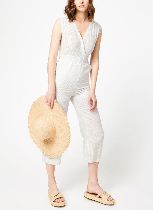 Vêtements Garance BASQUE Blanc vue bas / vue portée sac