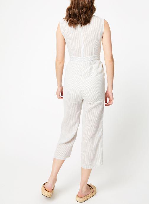 Vêtements Garance BASQUE Blanc vue portées chaussures