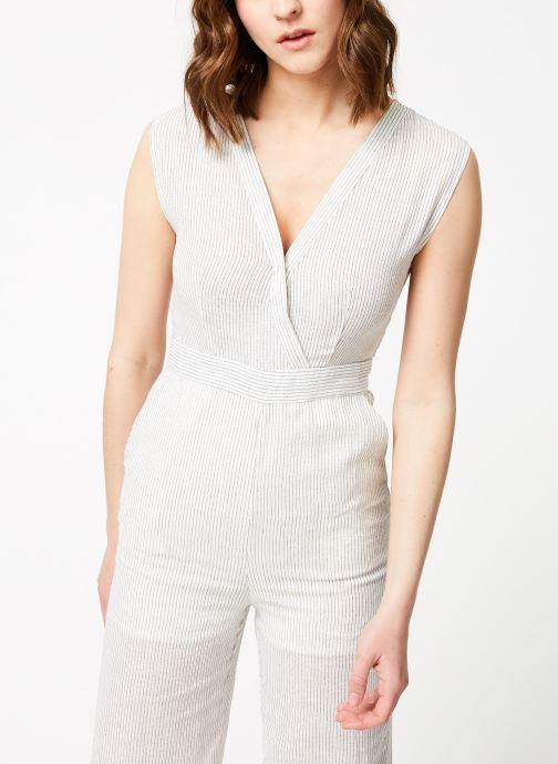 Vêtements Garance BASQUE Blanc vue droite