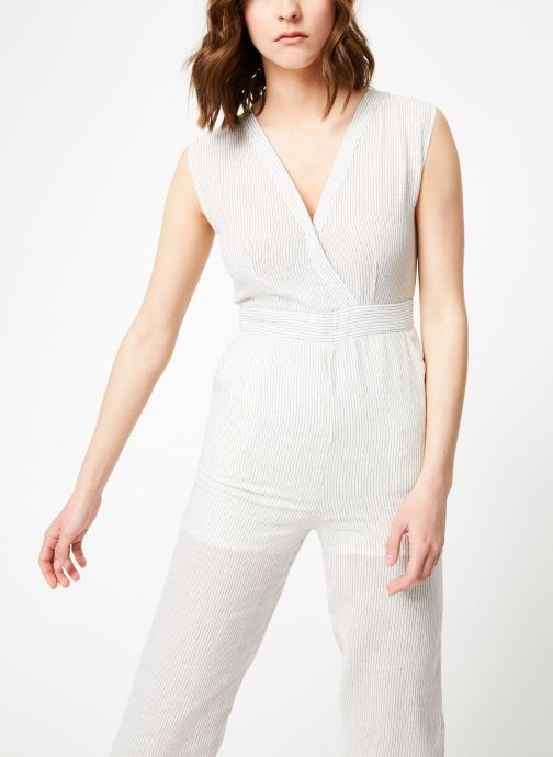 Vêtements Garance BASQUE Blanc vue détail/paire