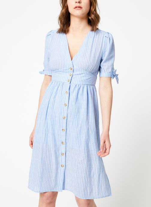 Vêtements Garance BARDOT Bleu vue droite