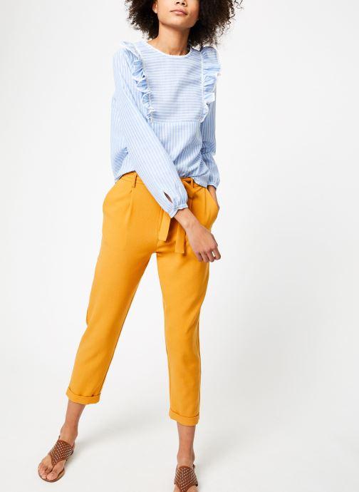 Vêtements Garance BARDY Bleu vue bas / vue portée sac