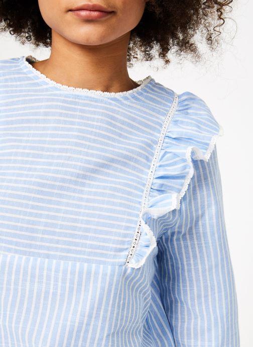Vêtements Garance BARDY Bleu vue face
