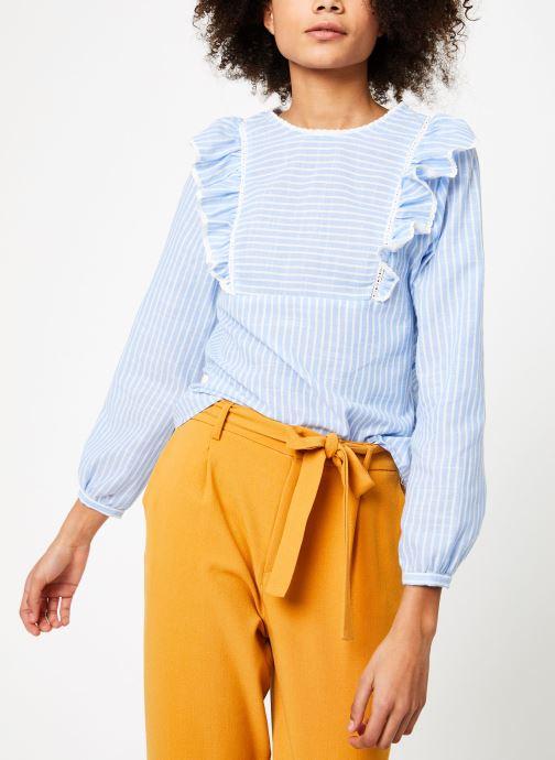 Vêtements Garance BARDY Bleu vue droite
