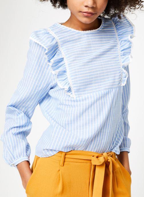 Vêtements Garance BARDY Bleu vue détail/paire