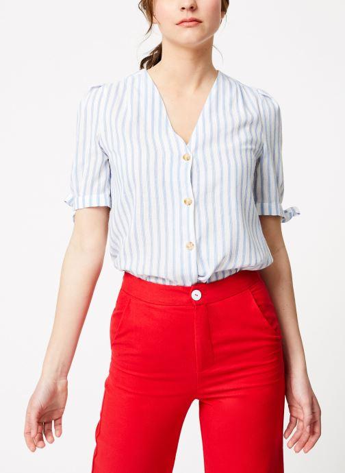 Vêtements Garance BARI Bleu vue droite