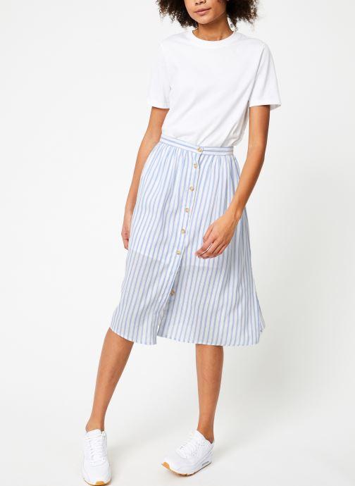 Vêtements Garance BARISA Blanc vue bas / vue portée sac