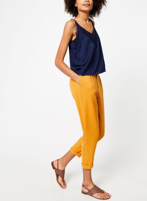 Vêtements Garance BENEDICTE Bleu vue bas / vue portée sac
