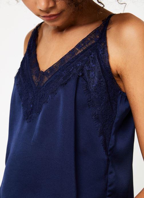 Vêtements Garance BENEDICTE Bleu vue face