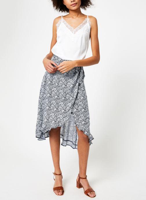 Vêtements Garance BENEDICTE Blanc vue bas / vue portée sac