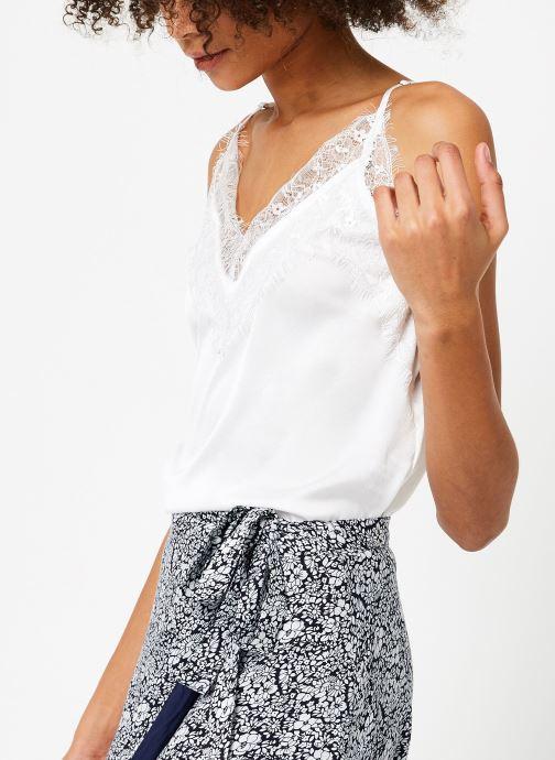 Vêtements Garance BENEDICTE Blanc vue détail/paire
