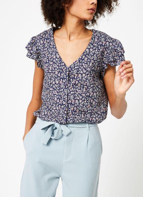 Vêtements Garance BESTA Bleu vue droite