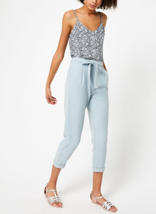 Vêtements Garance BLONDY Bleu vue bas / vue portée sac