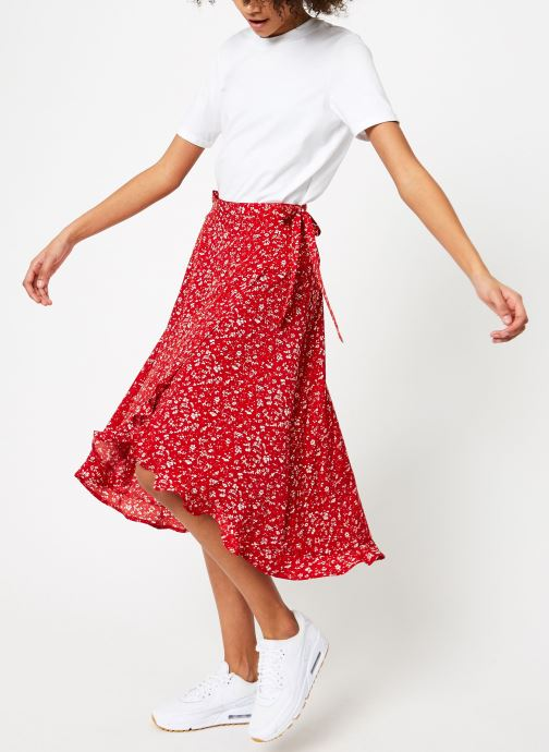 Vêtements Garance BOB Rouge vue bas / vue portée sac