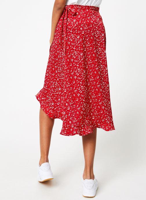 Vêtements Garance BOB Rouge vue portées chaussures