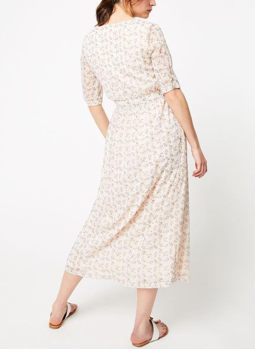 Vêtements Garance BOREAL Blanc vue portées chaussures