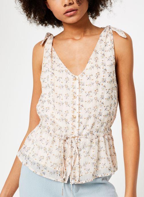 Vêtements Garance BOUEE Blanc vue détail/paire