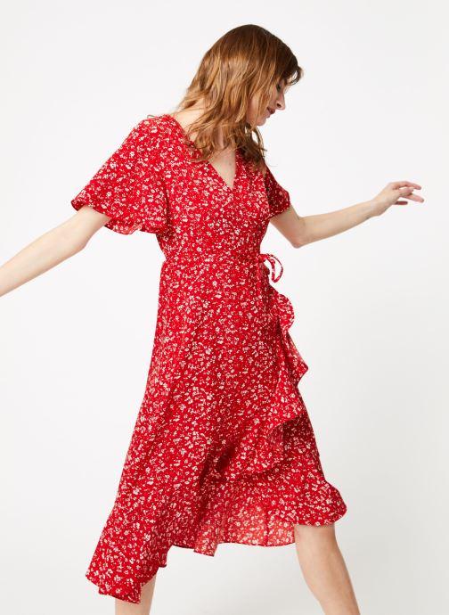 Vêtements Garance BRILLANTE Rouge vue détail/paire