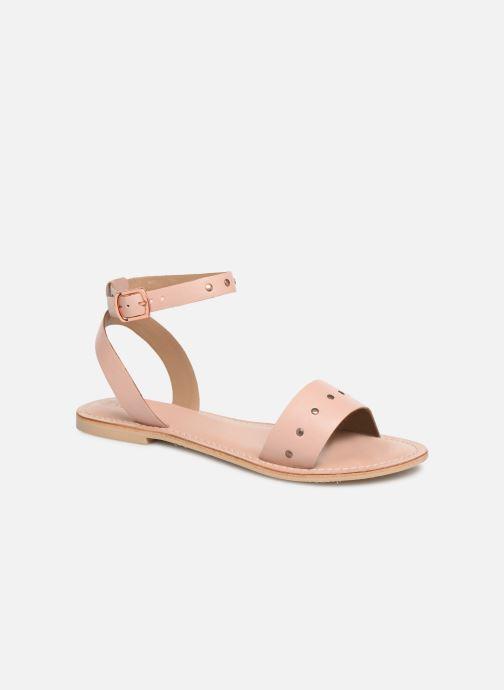 Sandalias Vero Moda Vmlouisa Leather Sandal Rosa vista de detalle / par