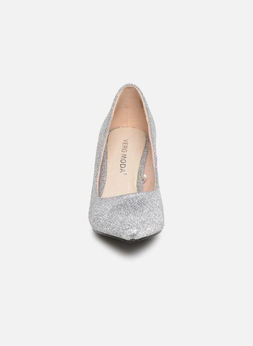Escarpins Vero Moda Vmglitter Pump Argent vue portées chaussures