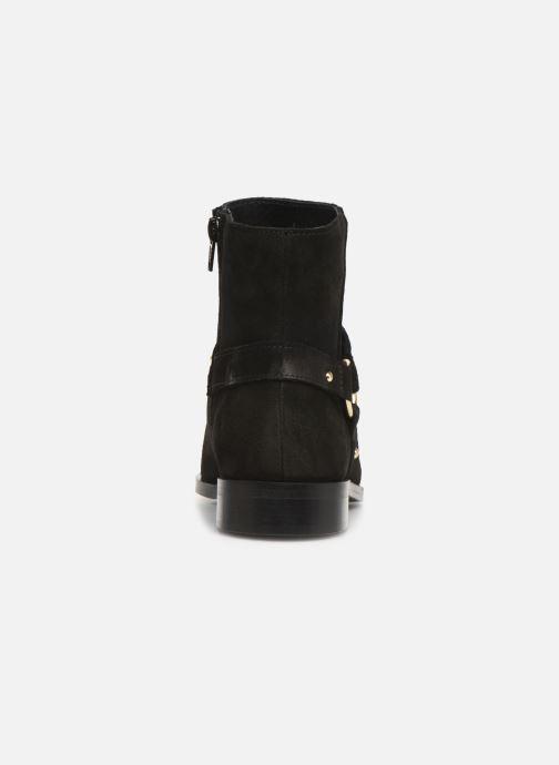 Botines  Vero Moda Vmvivi Leather Boot Negro vista lateral derecha