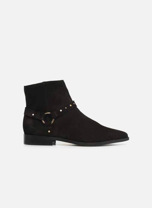 Boots en enkellaarsjes Vero Moda Vmvivi Leather Boot Zwart achterkant