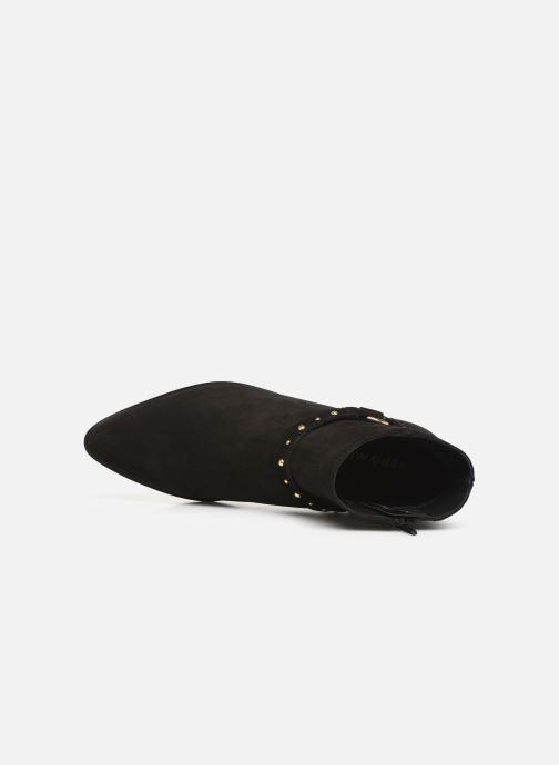 Boots en enkellaarsjes Vero Moda Vmvivi Leather Boot Zwart links