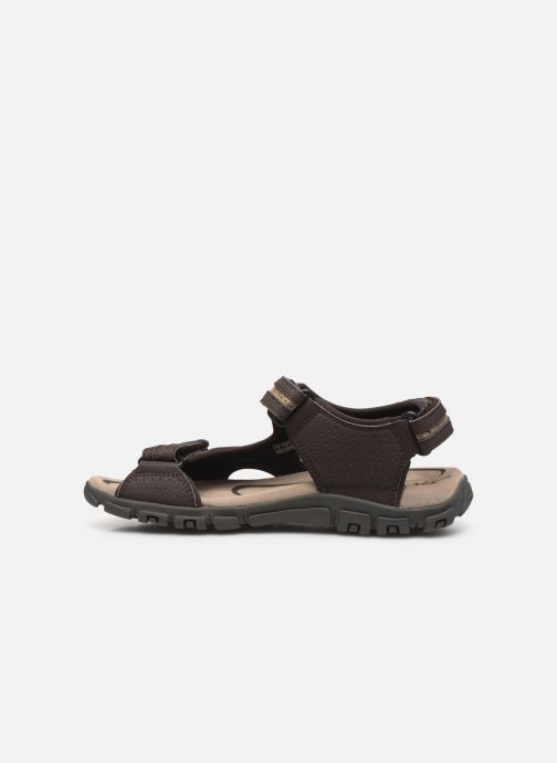 Sandales et nu-pieds Geox U S.STRADA D Beige vue face