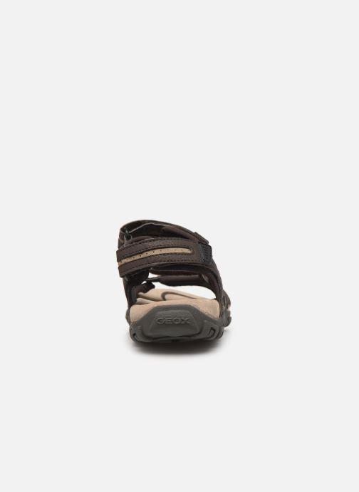 Sandales et nu-pieds Geox U S.STRADA D Beige vue droite