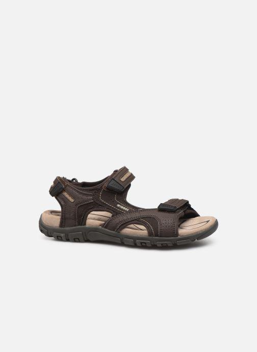 Sandales et nu-pieds Geox U S.STRADA D Beige vue derrière