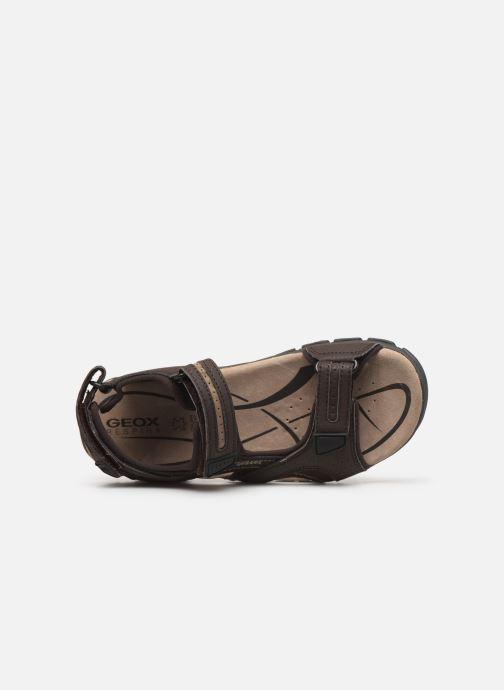 Sandales et nu-pieds Geox U S.STRADA D Beige vue gauche