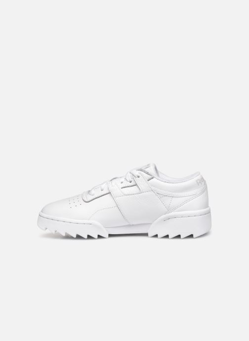 Trainers Reebok Workout Ripple Og White front view
