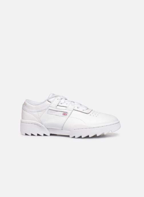 Trainers Reebok Workout Ripple Og White back view
