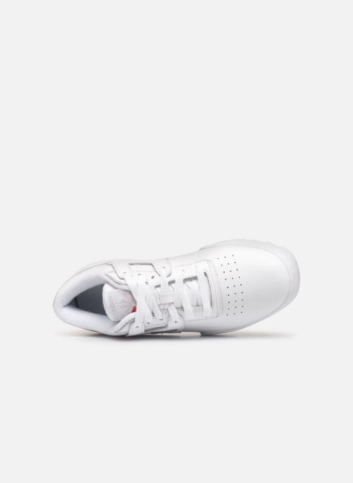 Trainers Reebok Workout Ripple Og White view from the left