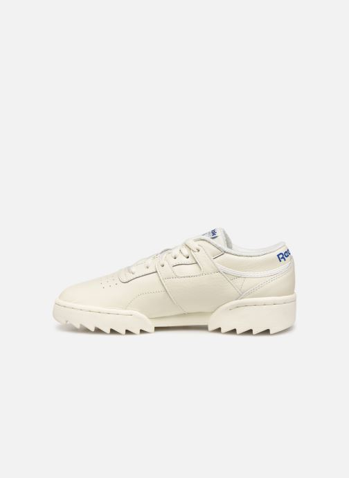 Baskets Reebok Workout Ripple Og Beige vue face