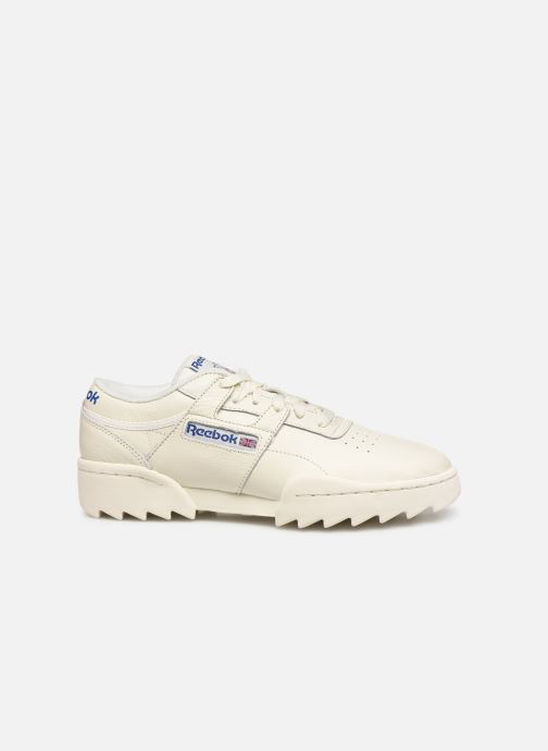 Baskets Reebok Workout Ripple Og Beige vue derrière