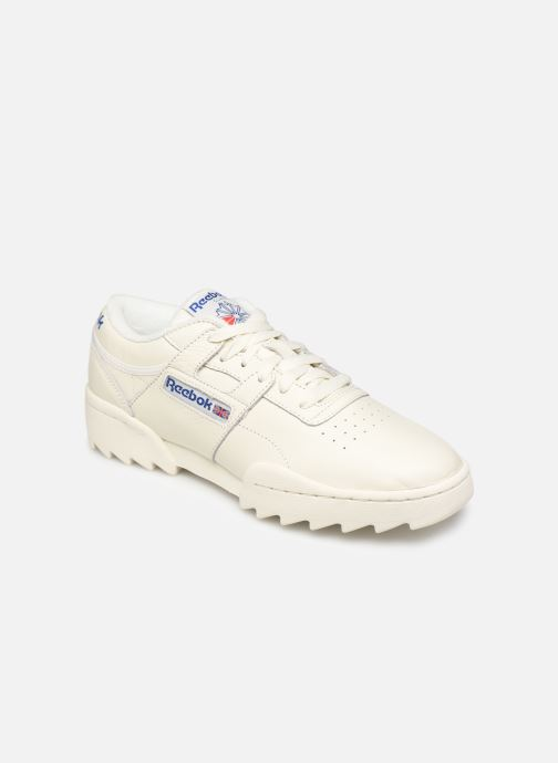 Baskets Reebok Workout Ripple Og Beige vue détail/paire