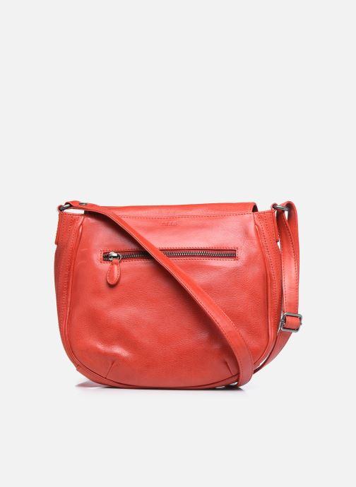Handtaschen IKKS Women Waiter rot ansicht von vorne