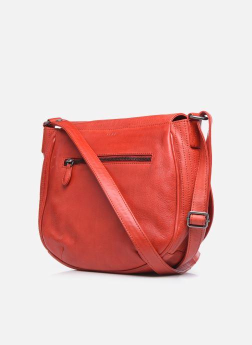 Handtaschen IKKS Women Waiter rot ansicht von rechts