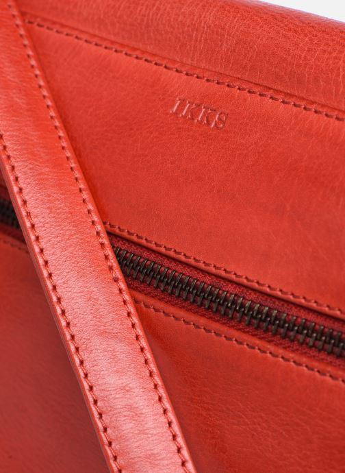 Handtaschen IKKS Women Waiter rot ansicht von links