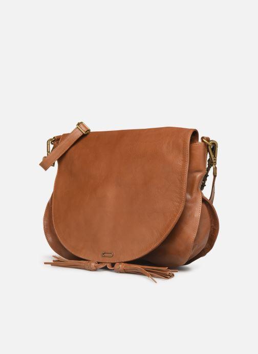 Handtaschen IKKS Women Plumber braun schuhe getragen