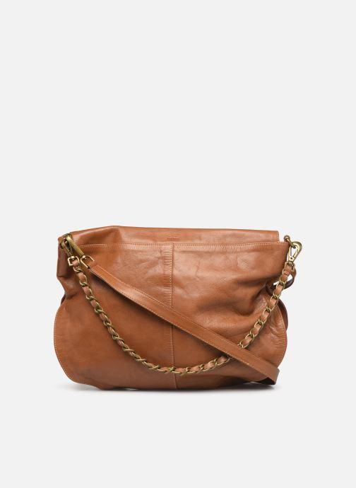 Handtaschen IKKS Women Plumber braun ansicht von vorne