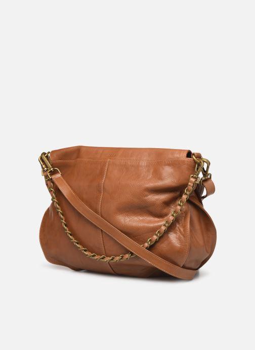 Handtaschen IKKS Women Plumber braun ansicht von rechts