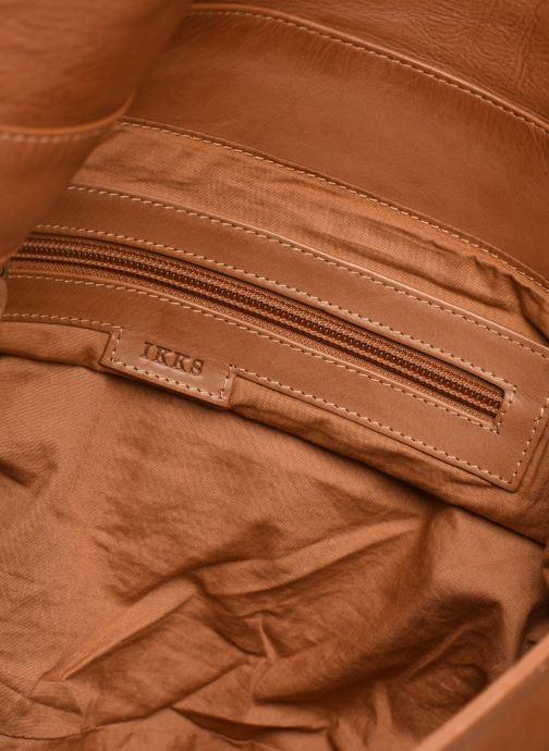 Handtaschen IKKS Women Plumber braun ansicht von hinten