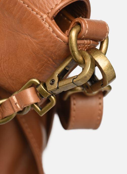 Handtaschen IKKS Women Plumber braun ansicht von links