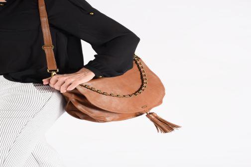 Handtaschen IKKS Women Plumber braun ansicht von oben