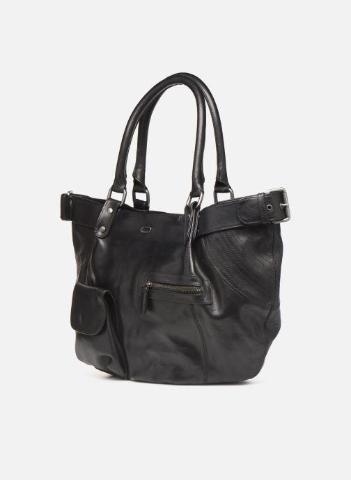 Handtaschen IKKS Women Fisherboy schwarz schuhe getragen