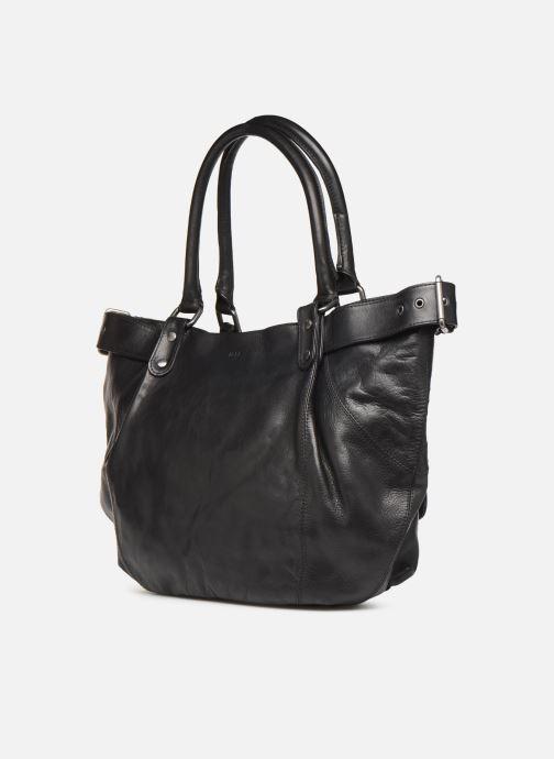 Handtaschen IKKS Women Fisherboy schwarz ansicht von rechts