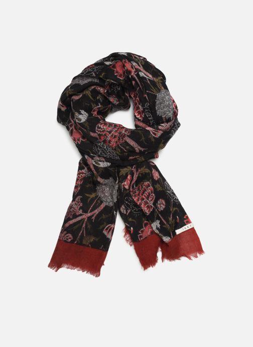 Halsduk och scarf IKKS Women Foulard Theme Svart detaljerad bild på paret